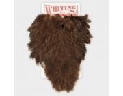 Whiting Coq de Leon Hen Saddle Soft Hackle with Chickabou